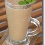 Vegan Chocolate Mint Shake