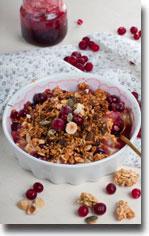 Cranberry-Walnut-Granola