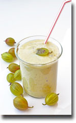 Gooseberries-smoothie