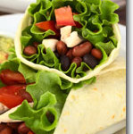 Kidney Bean Burrito