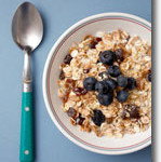 Blueberries and Toasted Almond Muesli