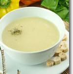 Roasted Fennel Potato Soup