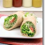 Alfalfa Sprout Wraps