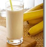 Vegan Banana Milk Shake
