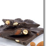 Vegan Chocolate Almond Bark