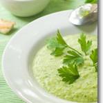 Creamy Zucchini Basil Soup