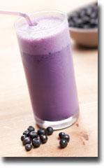 blueberry-shake