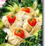 Vegetarian Shiitake Steamed Dumplings