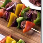 Vegan Beef Kabobs