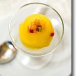 Spicy Mango Sorbet