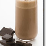 Vegan Chocolate Milk Shake
