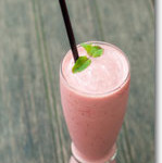 Raspberry Vanilla Smoothie